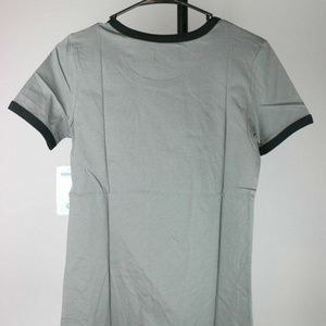 Tops - Brooklyn Nets Women's Baby Jersey Ringer T-Shirt